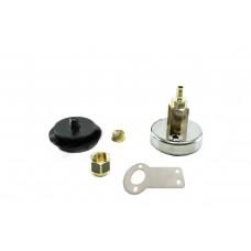 Заправочное устройство на кронштейне под полимерную трубку